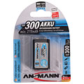 Rechargeable Batteries Ansmann 9V-Block 250mAh NiMH