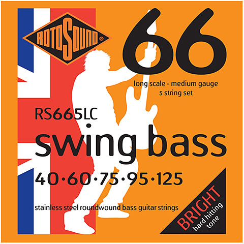 Rotosound Swingbass RS665LC