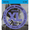 D'Addario EXL115 Nickel Wound .011-049 « Electric Guitar Strings