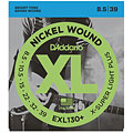 D'Addario EXL130+ Nickel Wound .0085-039 « Electric Guitar Strings