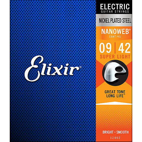 Elixir Nanoweb Super Light .009-042