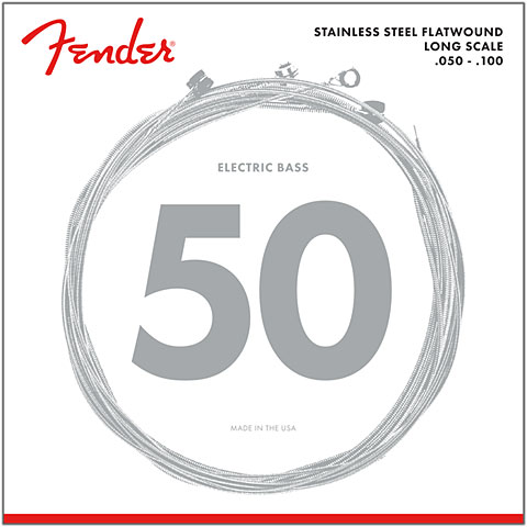 Fender 9050ML, 050-100, Flatwound