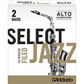 Reeds D'Addario Select Jazz Filed Alto Sax 2H