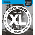 D'Addario EXL148 Nickel Wound .012-060 « Electric Guitar Strings