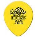 Dunlop Tortex TearDrop 0,73mm (72Stck) « Pick