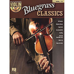Hal Leonard Violin Play-Along Vol.11 - Bluegrass Classics