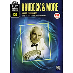 Alfred KDM Jazz Play-Along Brubeck & More Vol.3