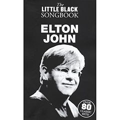 Music Sales The Little Black Songbook Elton John