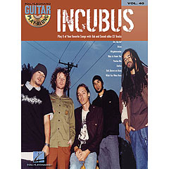 Hal Leonard Guitar Play-Along Vol.40 - Incubus