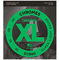 D'Addario ECB80 Chromes .040-095 « Electric Bass Strings