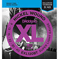 D'Addario EXL120BT Nickel Wound .009-040 « Electric Guitar Strings