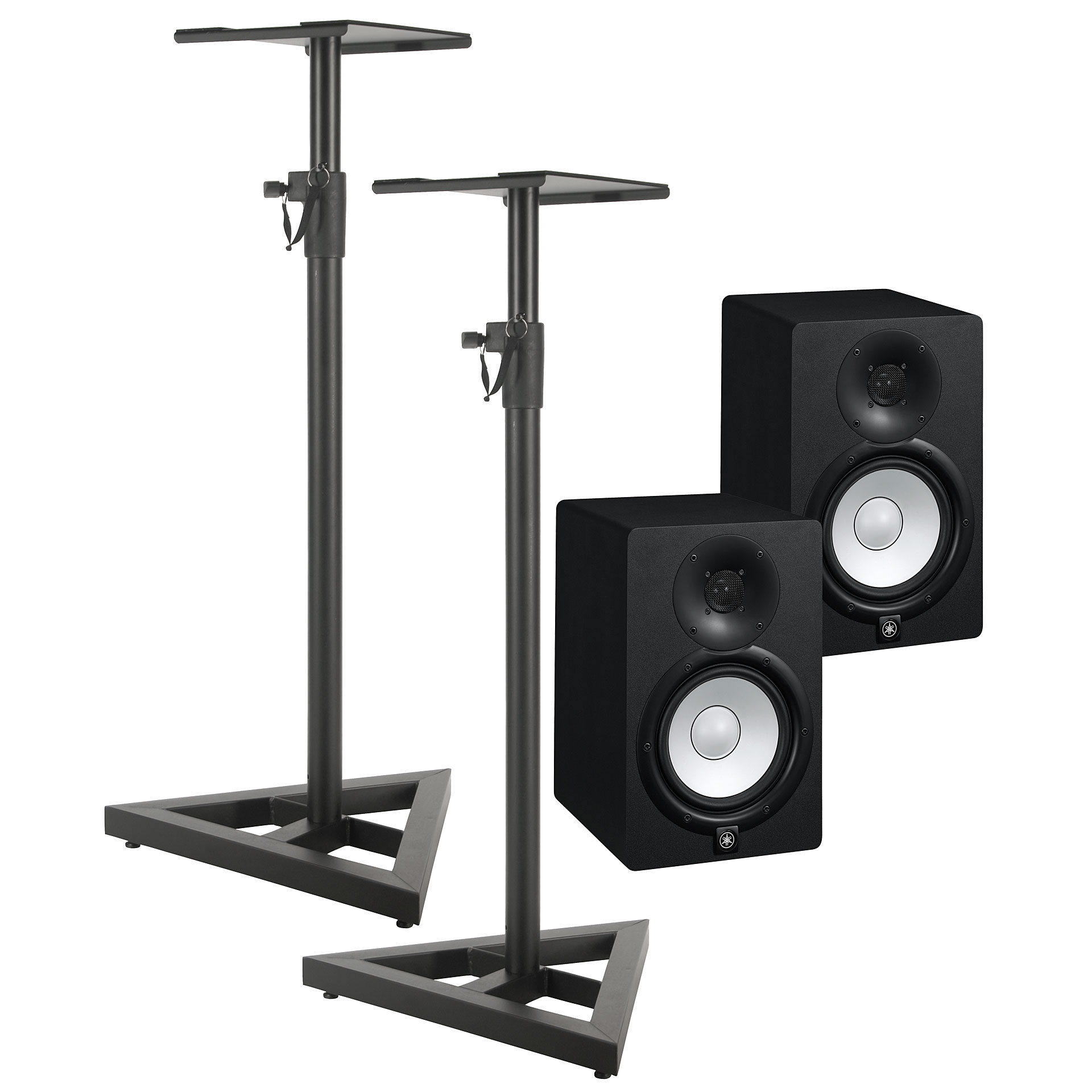 yamaha hs7 stand bundle active monitor. Black Bedroom Furniture Sets. Home Design Ideas