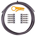 Patch Cable Lava Cable TightRope Pedal Board Kit 3m BLACK