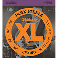 D'Addario EFX160 Flex Steels .050-105 « Electric Bass Strings