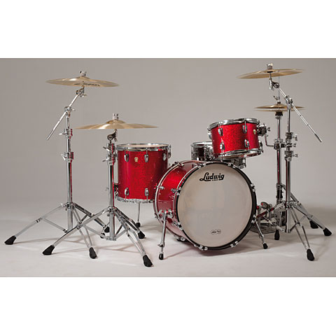 Ludwig classic maple mts downbeat 27 drum kit for Classic house drums