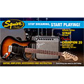 E-Guitar Set Squier Affinity HSS Strat BSB