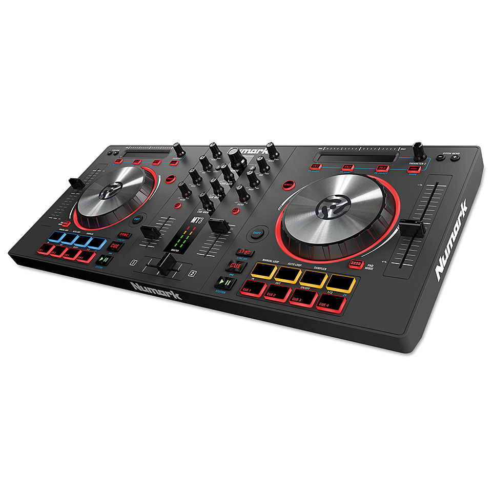 numark mixtrack pro 3 dj controller. Black Bedroom Furniture Sets. Home Design Ideas