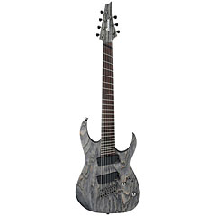 Ibanez RGIF7-BKS Fanned Fret Iron Label « Electric Guitar