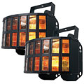 Disco Effect American DJ Aggressor HEX LED Dual Pack
