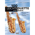 Hage 100 Leichte Duette für 2 Saxophone in Bb « Music Notes