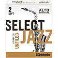 D'Addario Select Jazz Altsax unfiled 2-S « Reeds