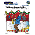 Music Notes Schott Weihnachtsmelodien for Tenor Saxophon