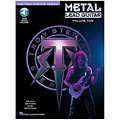 Instructional Book Hal Leonard Metal Lead Guitar Vol.1