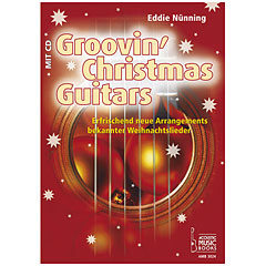 Acoustic Music Books Groovin` Christmas Guitar