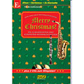 Music Notes Hage Merry Christmas für Eb-Instrumente
