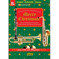 Music Notes Hage Merry Christmas für B-Instrumente