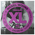 D'Addario EXL120-3D Nickel Wound .009-042 « Electric Guitar Strings