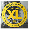 Electric Guitar Strings D'Addario EXL125-3D Nickel Wound .009-046