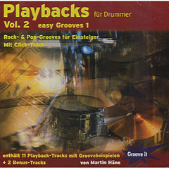 Tunesday Playbacks für Drummer Vol.2 Easy Grooves 1