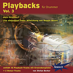 Tunesday Playbacks für Drummer Vol.3 Jazz-Grooves 1