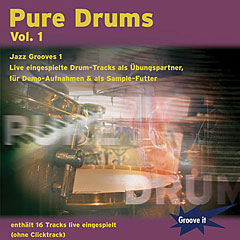 Tunesday Pure Drums Vol.1 - Jazz Grooves 1