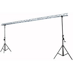 Showtec Two Stand mit Metal Dekotruss