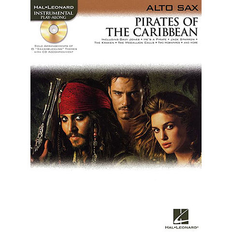 Hal Leonard Pirates of the Caribbean for Alto-Sax