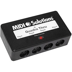 MIDI Solutions MST4 QuadraThru Box 1 in 4
