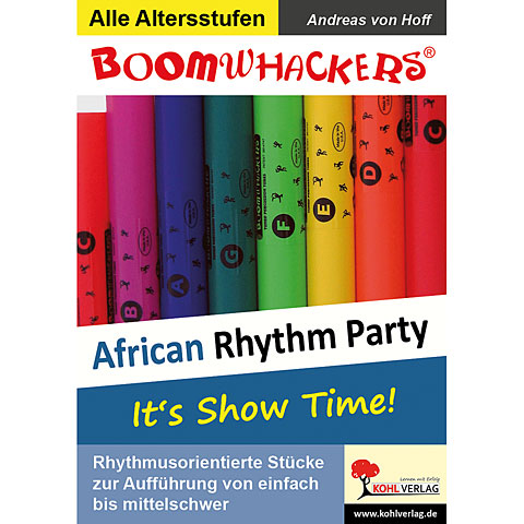 Kohl Boomwhackers African Rhythm Party 1