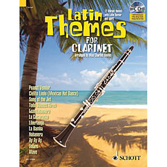 Schott Latin Themes for Clarinet / Klarinette