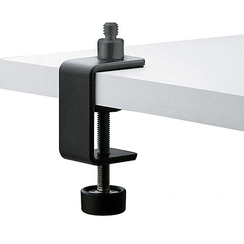 K&M 237s Table Clamp black