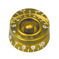 Pot Knob Gibson Speed SK020, 4x gold