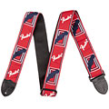 "Fender Monogram 2"" Red/White/Blue « Guitar Strap"