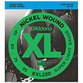 D'Addario EXL220 Nickel Wound .040-095 « Electric Bass Strings