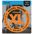 D'Addario EXL110-7 Nickel Wound .010-059 « Electric Guitar Strings