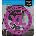 D'Addario EXL120-7 Nickel Wound .009-054 « Electric Guitar Strings