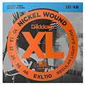 D'Addario EXL110 Nickel Wound .010-046 « Electric Guitar Strings