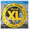 D'Addario EXL125 Nickel Wound .009-046 « Electric Guitar Strings