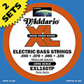 D'Addario EXL160TP Nickel Wound .050-105 « Electric Bass Strings