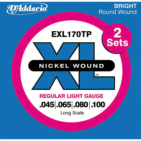 D'Addario EXL170TP Nickel Wound .045-100